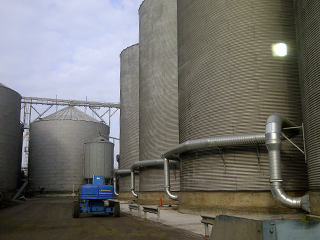 Specialists dryer systems, Installations of Agricultural Electrical dryer systems, static and portable driers