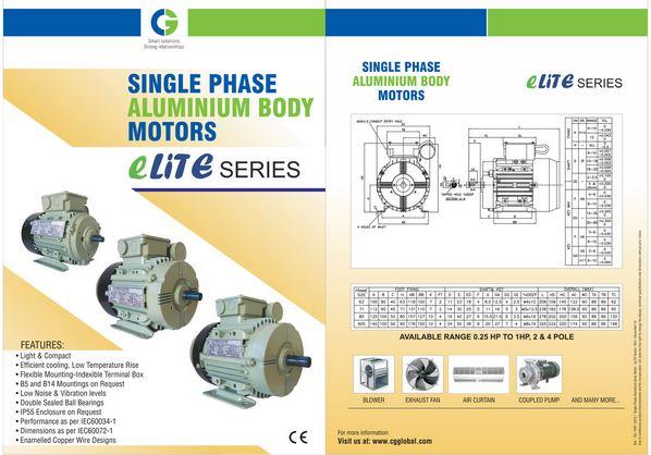 Electric Motor Sales CROMPTON Greaves - IE3 Energy Efficient AC Motors
